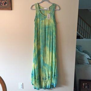 NWT Soft Surrounding Tank Maxi Dress Size Large